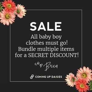BABY BOY CLOTHES SALE